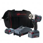 """Гайковёрт ударный, 3/8"""", аккумуляторный, W5132-K22-EU. 20B, 35-500Нм/750 Нм, 35-2100 об/мин. Комплект 2 АКБ 2,5 A/ч и 5,0 А/ч + зарядное устройство в сумке"""