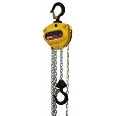 Ручная цепная таль, грузоподъёмность  0,50 т. (высота подъёма 3,0м.; тяговое усилие 23,2кг.; 1 свес; защита от перегрузки) Kinetic